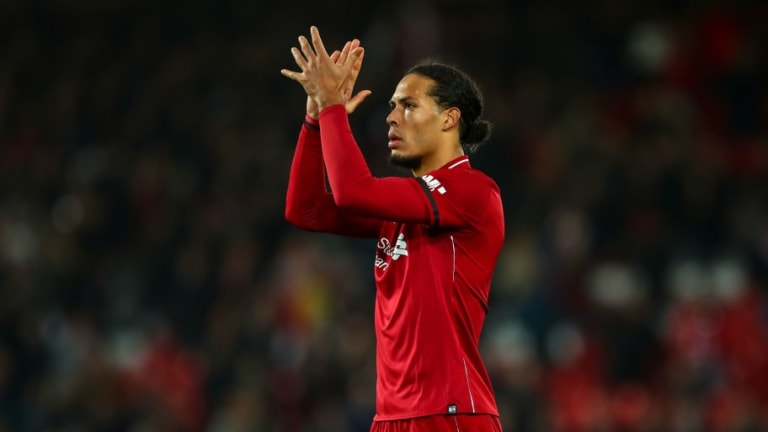 Liverpool Fans Hail Virgil Van Dijk for Passionate Performance in Victory Against Brighton