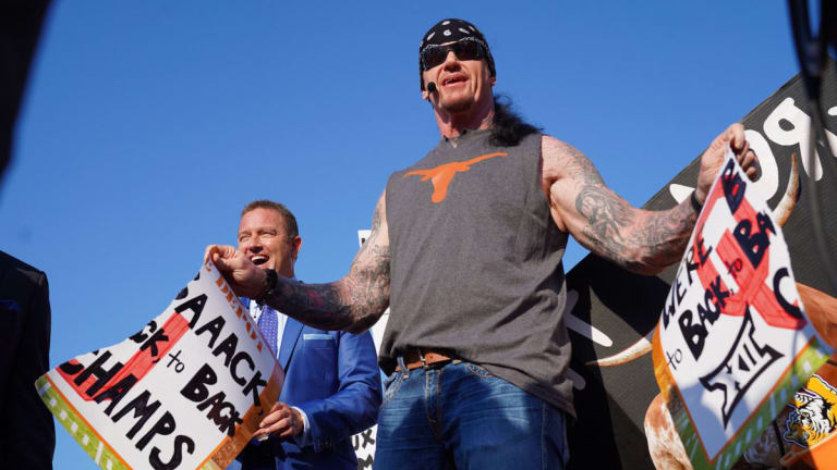 Inside The Undertaker's Appearance on ESPN 'College Gameday'