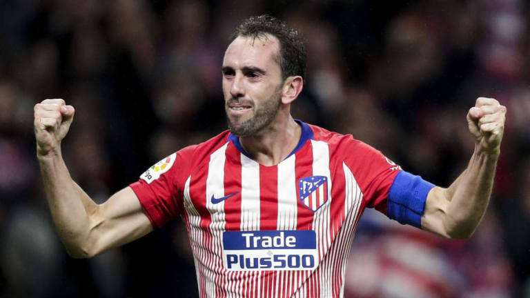 Juventus 'Failed' in Attempt to Snatch Atletico Madrid Defender Diego Godin From Rivals Inter