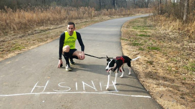 Watch: U.S. Olympian Anthony Famiglietti Claims He Ran a 3:59 Mile With A Dog