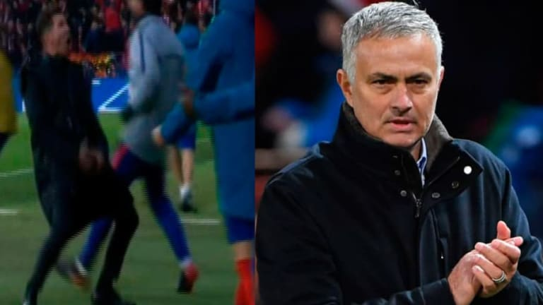 """Mourinho ataca al 'Cholo': """"¿Puedes imaginarme haciendo lo que hizo Simeone?"""""""