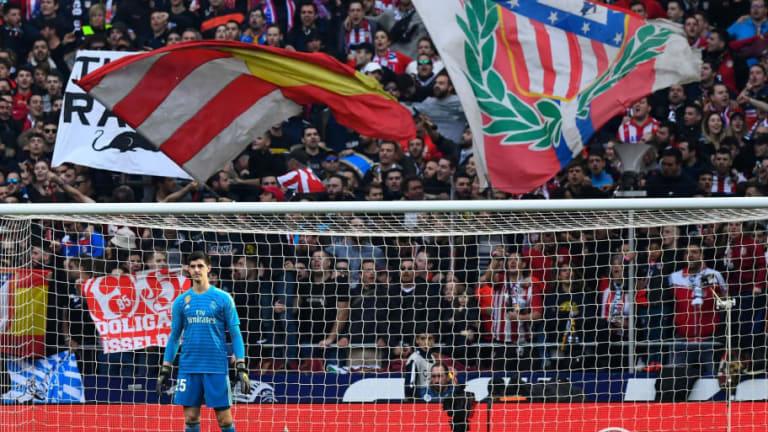 Courtois explica por qué le gusta más la afición del Real Madrid que la del Atlético