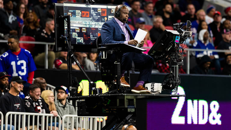 Report: Booger McFarland Contraption Won't Be Back on 'Monday Night Football'