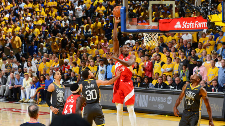 Serge Ibaka Seizes His Finals Moment in Raptors' Game 4 Win