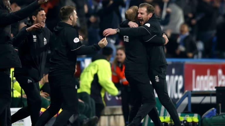 Jan Siewert Proud of Huddersfield Striker Steve Mounie After Late Winner Sinks Wolves
