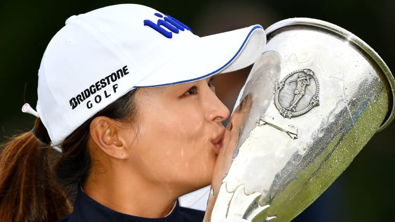 Jin Young Ko Wins at Evian for Second Major Title of Season