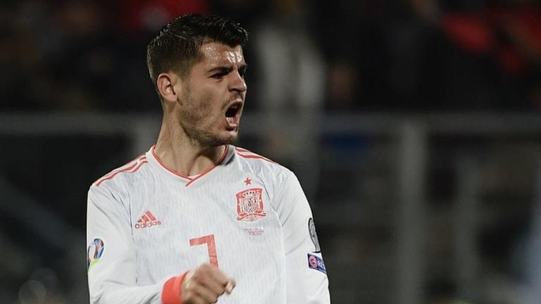 """Morata explota contra sus críticos: """"Me siento muy observado y discutido"""""""