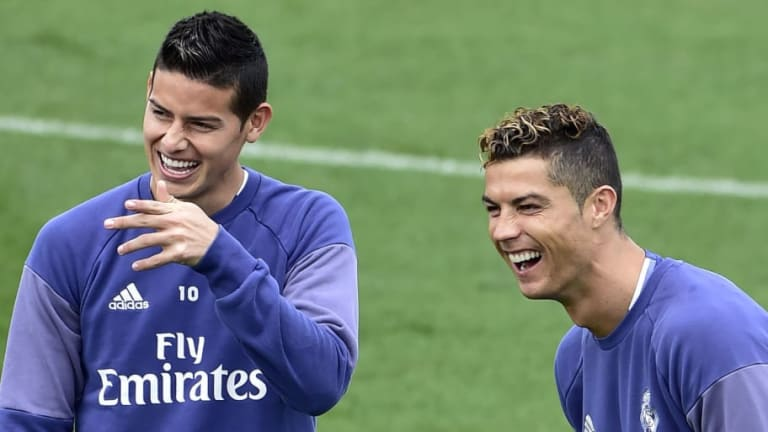 Cristiano Ronaldo 'Contacts' Former Real Madrid Teammate James Rodriguez to Lure Him to Juventus