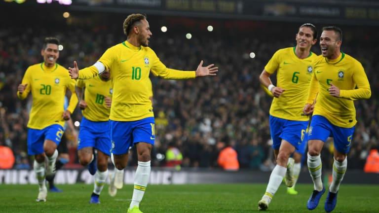 Filtran la camiseta de la selección de Brasil para la Copa América