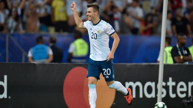 Napoli Make Cash Plus Player Approach for Tottenham Target Giovani Lo Celso