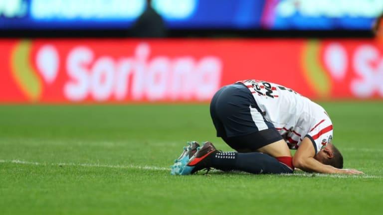Jesús Molina estuvo ausente en el entrenamiento de Chivas