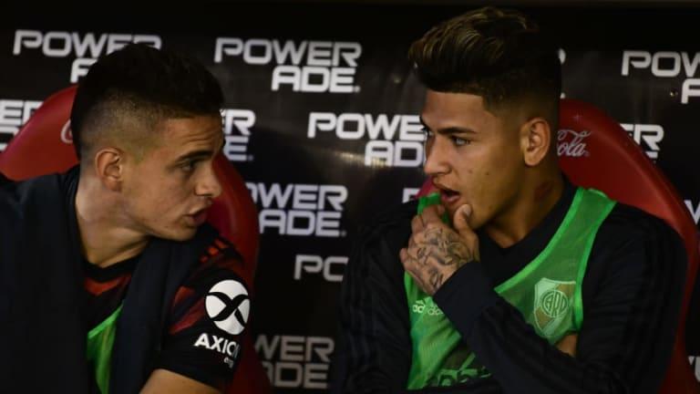 Jorge Carrascal es convocado por Marcelo Gallardo para jugar frente a Independiente