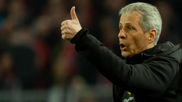 Lucien Favre 'Thanks God' as Dortmund Hold on for Important Win Against Leverkusen
