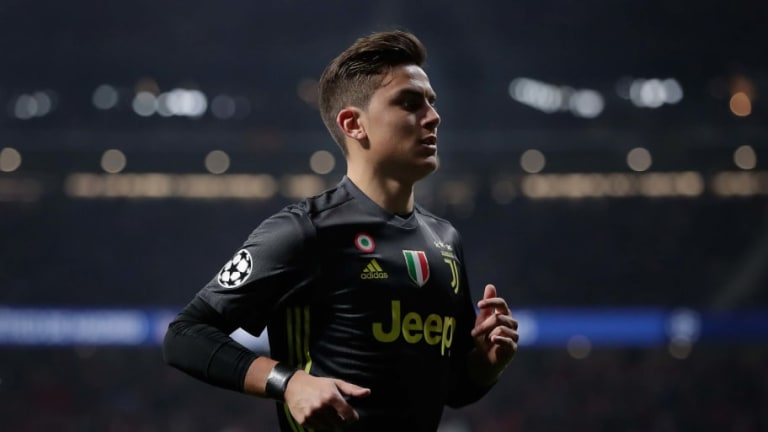 Juventus Number 10 Paulo Dybala Set to Be Dropped for Atletico Madrid Champions League Clash