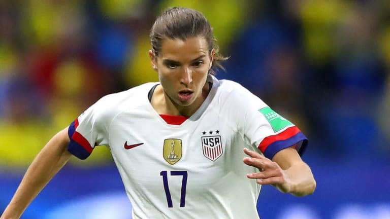 French Journalist Pleads With USWNT Star Tobin Heath to Let France Win Huge Quarter Final