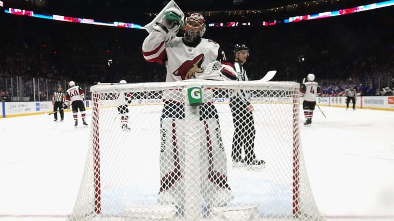 How Career Backup Netminder Darcy Kuemper Saved the Coyotes' Season