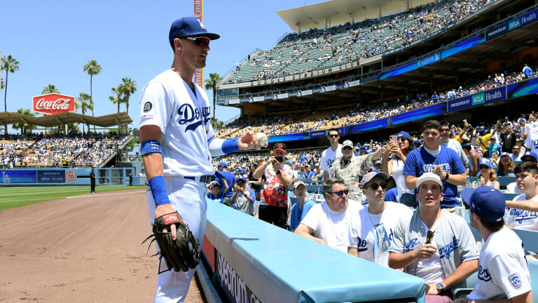 Fan Taken to Hospital For Tests After Getting Struck by Cody Bellinger's Foul