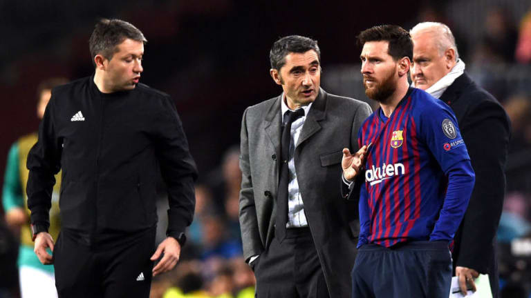 Barcelona Manager Ernesto Valverde Provides Lionel Messi Injury Update Ahead of El Clasico Clash