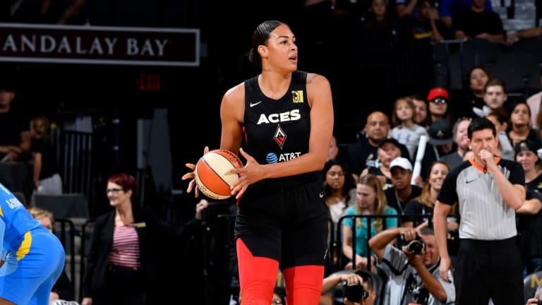 Aces' Liz Cambage Pens Powerful Piece on Mental Health and WNBA Policies