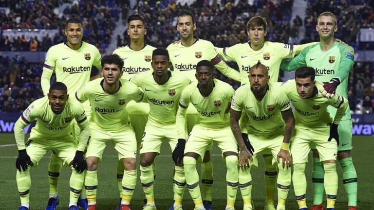 La posible alineación que usará el FC Barcelona para enfrentar al Eibar
