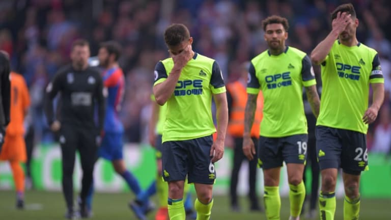 Twitter Reacts as Huddersfield are Relegated From the Premier League After Defeat to Palace