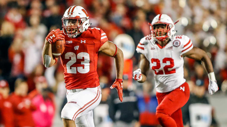 From Nation's Leading Rusher to Wisconsin Track Weapon, Jonathan Taylor Keeps Running