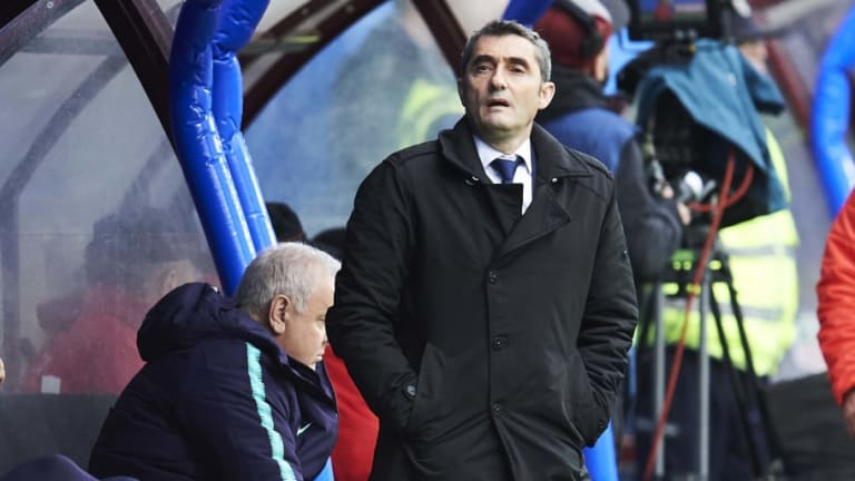 Ernesto Valverde Admits Barcelona Duo Are Doubts for Copa del Rey Final Following Eibar Draw