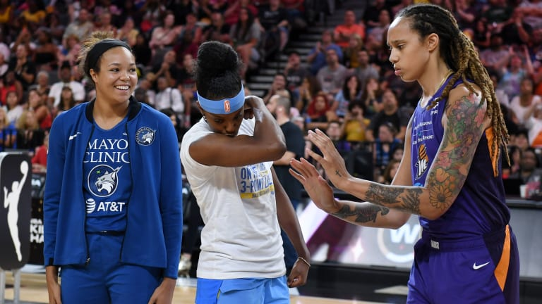 Battle of Former Champs, Struggling Mercury vs. Surging Sky Headline Playoff's 1st Round