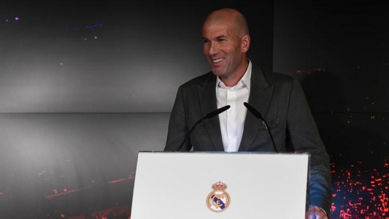 """Zidane: """"Estoy contento de volver. Contento por trabajar con este club y esta plantilla"""""""