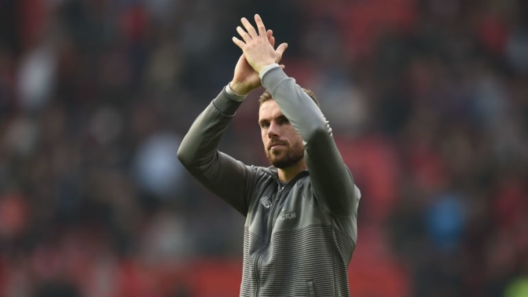 Jordan Henderson Reveals Liverpool Squad Are 'Loving' the Pressure of the Title Race