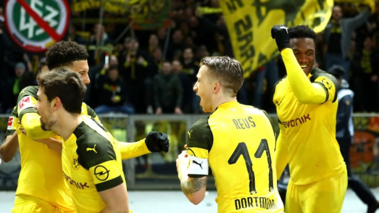 Borussia Dortmund vs VfL Wolfsburg: Lucien Favre's Best Available Lineup