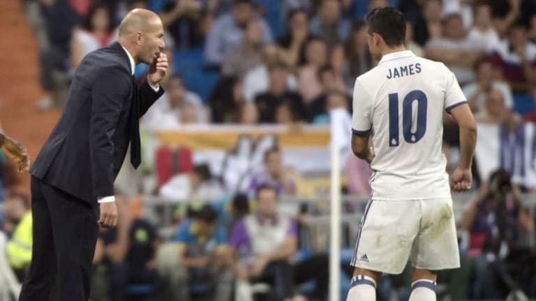 James Rodríguez se incorpora a la pretemporada del Real Madrid