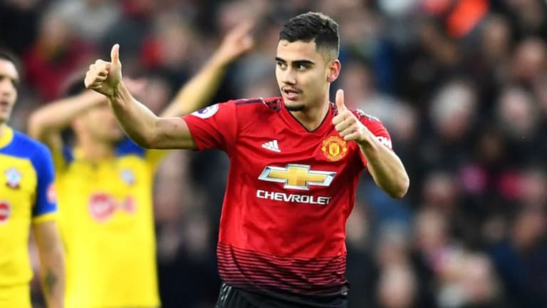 Man Utd Trigger 12-Month Option on Midfielder Andreas Pereira to Extend Contract Until 2020