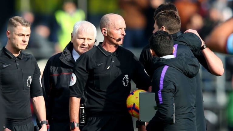 Mike Dean Reveals Details of Mauricio Pochettino Confrontation After Spurs Defeat to Burnley