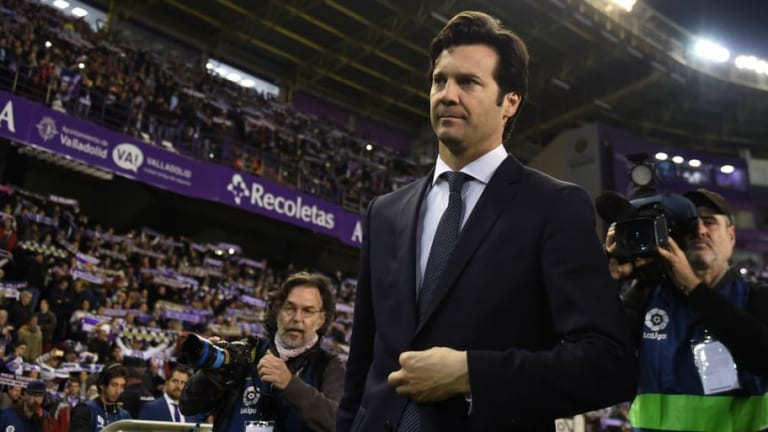 Santiago Solari Refuses to Comment on Real Madrid Future Following Victory Over Real Valladolid