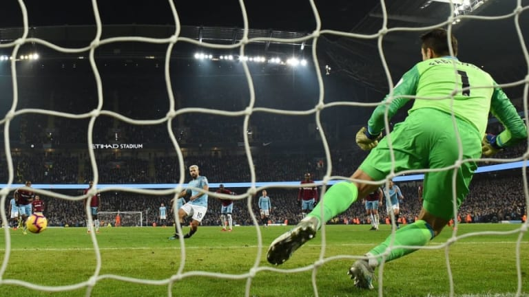 Manchester City 1-0 West Ham United: Report, Ratings and Reaction as Champions Edge to Victory