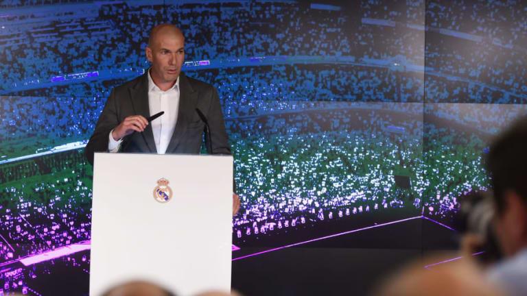 El motivo por el que Zidane no llegó para el partido ante el Valladolid