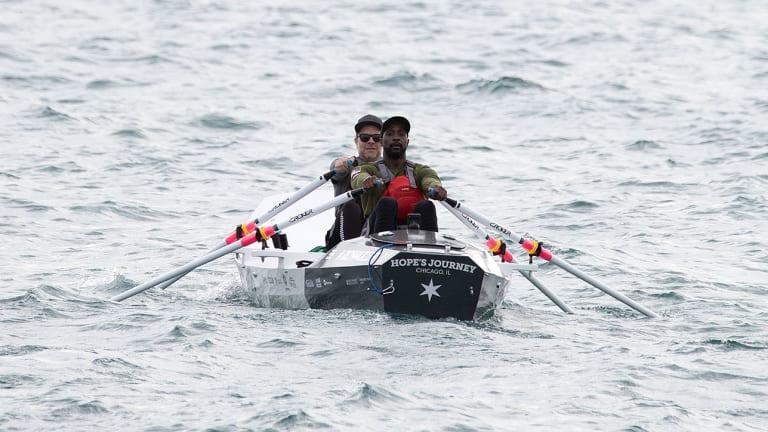 Peanut (Not) Brittle: Charles Tillman Is Training to Row Across Lake Michigan