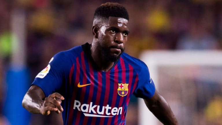 Barcelona Decide Against Setting Samuel Umtiti Price Tag But Will Await Arsenal & Man Utd Offers