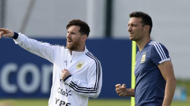 VUELVE MESSI   La lista de la Selección Argentina para los amistosos ante Venezuela y Marruecos