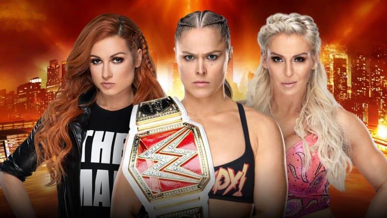 Raw Women's Title Match Will Officially Main-Event WrestleMania 35