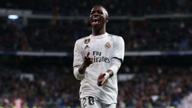 Vinicius Junior Confident About Real Madrid Future Despite the Arrival of Eden Hazard