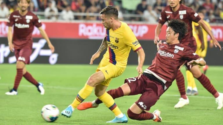 Vissel Kobe 0-2 Barcelona: Report, Ratings & Reaction as Carles Perez Shines to Lift Rakuten Cup