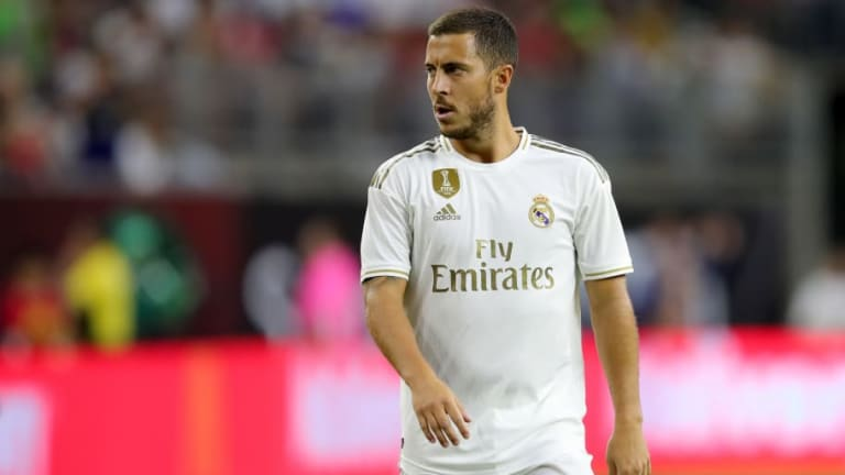 Twitter Reacts as Eden Hazard Makes Real Madrid Bow in Pre-Season Defeat to Bayern Munich