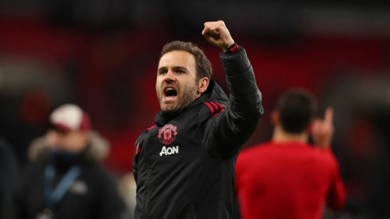 Juan Mata Provides Injury Update and Hails 'Brave' Teammates After Draw With Liverpool