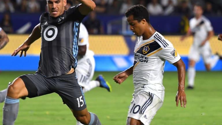 Galaxy está contemplando la opción de que Gio dos Santos siga en el equipo