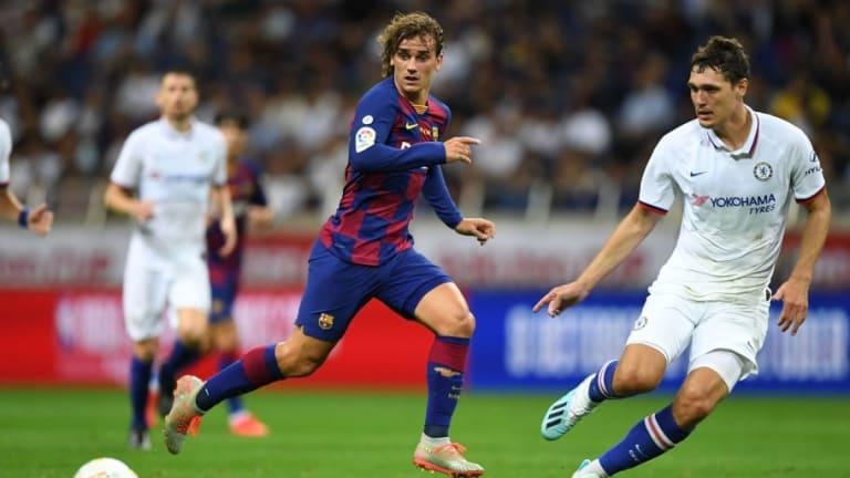 Griezmann vuelve de la pretemporada con el deseo de jugar cuanto antes junto a Messi y Suárez