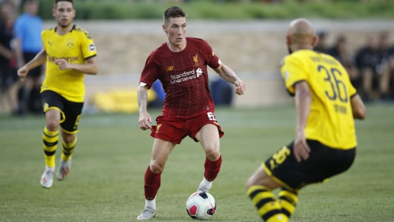 Borussia Dortmund Have 'Made Approach' for Liverpool Winger Harry Wilson