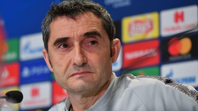 """Valverde: """"Se ha tomado una decisión con Munir, espero que se solucione en el mercado de invierno"""""""