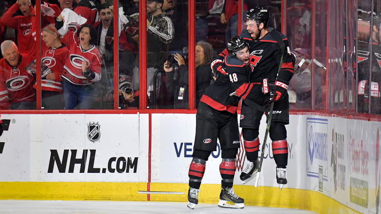 Hurricanes' Unbelievable Run Continues With Sweep of Islanders